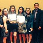 Congratulations Daisy Del Real & Kimberly Jacinto for the scholarships & Rosa Ramirez! @ERHSMsFigueroa @JchavezDiaz http://t.co/St6u4Ph7pC