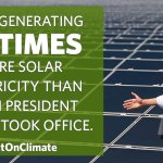 RT @WhiteHouse: RT to share how we're expanding our use of solar power under President Obama → http://t.co/xKq4J57Jqd #ActOnClimate