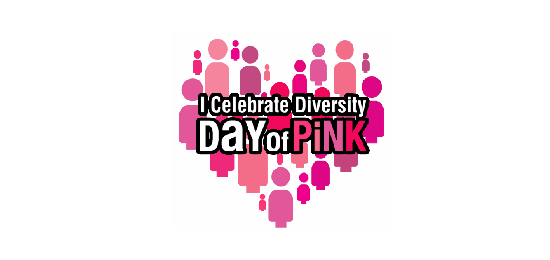 It's the #InternationalDayOfPink celebrate diversity & stop all forms of bullying @dayofpink  http://t.co/cBMQi9yHXf http://t.co/aWxgVxbEYQ
