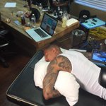 RT @TheBestManager: People say @NickCannon is soft but it takes a certain toughness to fall asleep while getting a tattoo. #MogulMoments ht…