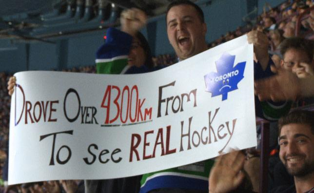 "#Gold ""@VanCanucks: Highlight of the night - this sign! http://t.co/3KgV8whHiQ"""
