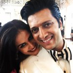 RT @Riteishd: Mr & Mrs Deshmukh http://t.co/gWlO9v2Dau