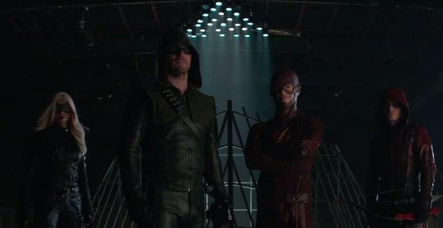 """That's how it's done.""  #TheFlash #Arrow @amellywood @grantgust  #Firestorm   https://t.co/3HUStgsyxs http://t.co/gzTRRHWYeB"