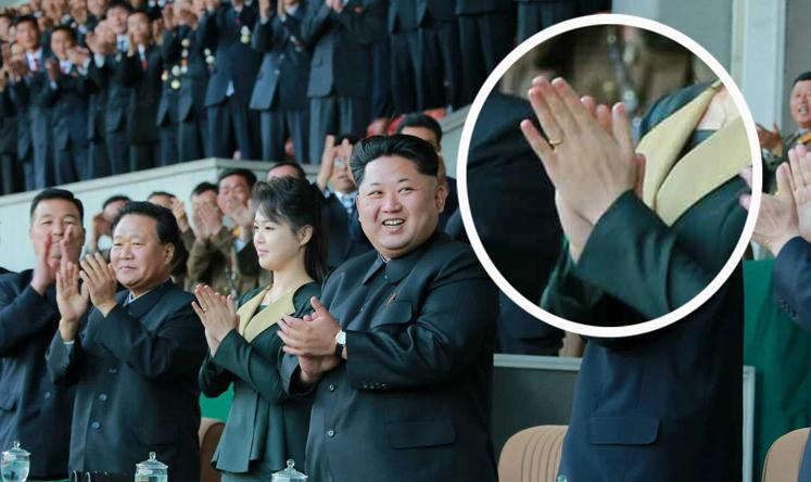 Kim jong-un's wife ri sol-ju resurfaces in public sporting ...