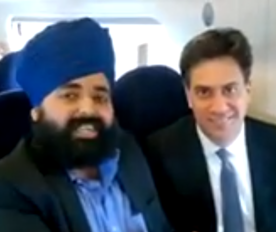 """""""@GuidoFawkes Exclusive [VIDEO] Not the Candidate Ed is Sikh-ing http://t.co/FTGfqEerNr http://t.co/huu6Qk1u1l"""" well played @AmandeepBhogal"""