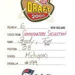 15 years ago today, Patriots used the 199th pick in the NFL Draft on a QB named Tom Brady. #tbt (via @Patriots) http://t.co/0AJVwZthe1