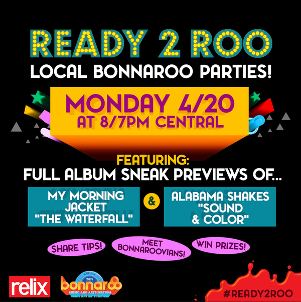 Who's listening to some MMJ and Alabama Shakes with their Roo Crew tonight? #Ready2Roo http://t.co/lyctE6ojii http://t.co/eMnnGmKQYW
