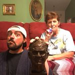 Blazin' with Amazin' Grace: me & Mom celebrate the end of 4/20 with a bust of Dad, a smoke & a vape. #MuricanGothic http://t.co/0e4Tv62L9N