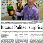 The remarkable, bittersweet tale of @DailyBreezeNews sweet Pulitzer win. CA section spread: http://t.co/HOv8JFF1dO http://t.co/wxjGPGpRcn