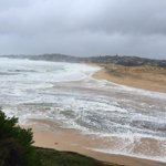 Not much left of North Curl Curl Beach, dunes pretty bare #SydneyStorm #NSWweather http://t.co/TNADE2h6ZW