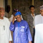 A former President met with the President-elect in Abuja (PHOTOS) http://t.co/tlcWLXynsN http://t.co/MWJEwqBdYY