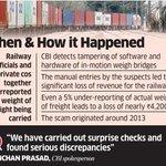 #CBI intiates probe into alleged Rs 4,200-crore loss in railways freight under #UPA http://t.co/OmltCwQg8P http://t.co/38uV0qE6R3