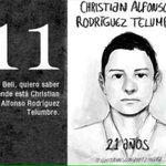 11 Christian Alfonso #Ayotzinapa7Meses FueElEstado NiPerdonNiOlvido #PeñaNietoTieneQueIrse43 http://t.co/CKjrsIOKoa