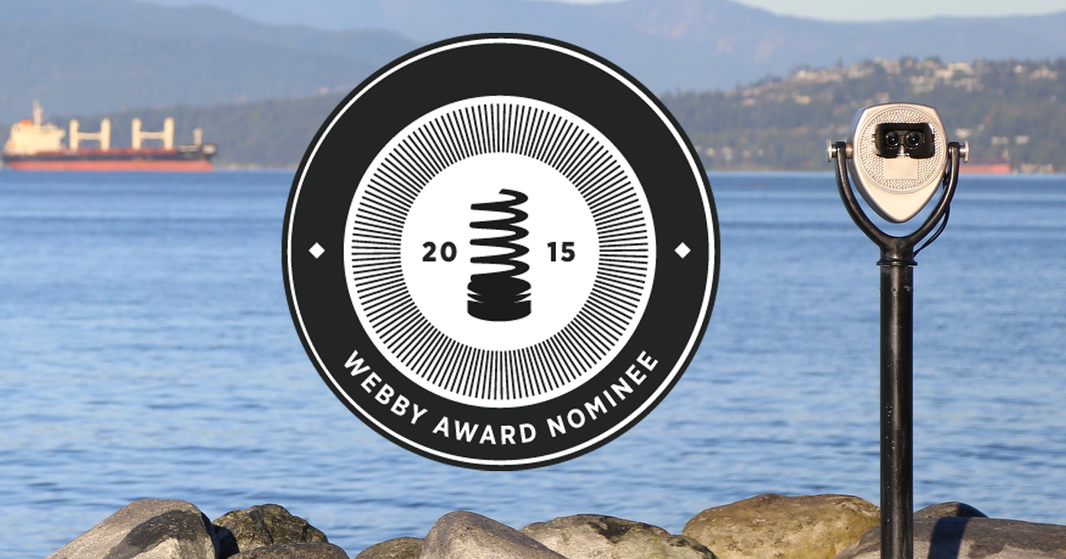 Virtual Oil Spill for @dogwoodbc is nominated at @TheWebbyAwards and it needs your vote.  http://t.co/HxV0p8vaDa http://t.co/PdfteDLoQl