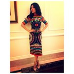 RT @jayatibose: Once again @shrutihaasan in @fashionwithneha outfit for events in Delhi promoting @TheGabbarIsBack http://t.co/kbTljcJoXI