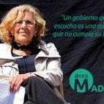 Manuel Carmena y Nacho Murgui imparables. #AhoraMadrid va a lograr lo que llevamos esperando décadas: Otro #Madrid http://t.co/a8iGMdk70v