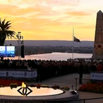 This mornings dawn service has concluded. Stay with us for our special #AnzacDay coverage. #9News http://t.co/wOGync2fgF