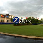 The sky is clearing, the sun is setting and play will resume tomorrow morning at 8 AM at the Zurich Classic http://t.co/KXMe8Sohzh