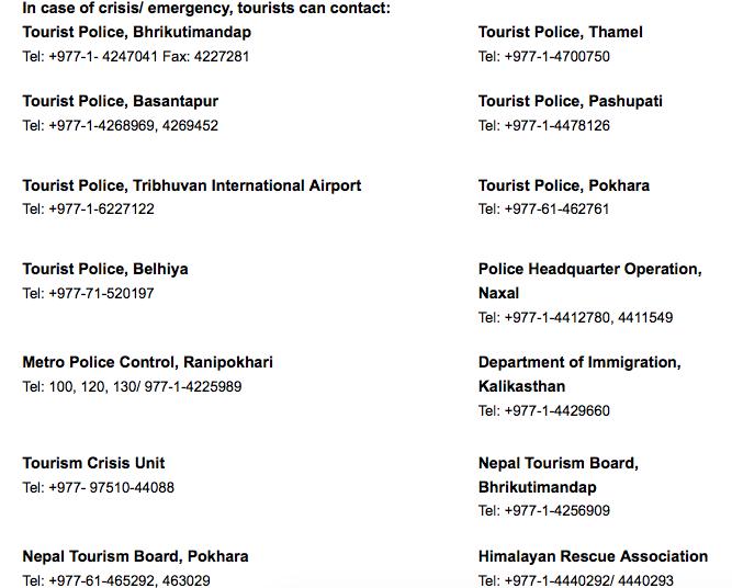 MT @HR_italian Emergency Numbers: http://t.co/U2j97XrMGY via ^AB #Nepalquake #NPquake #Nepal #earthquake #kathmandu