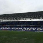 Este es el aspecto del Power8 Stadium cuando faltan más de dos horas para el inicio del derbi #EspanyolFCB http://t.co/r5pr2G1eSm