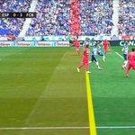 El segon gol del Barça no hauria dhaver pujat al marcador per fora de joc #RCDE http://t.co/ZTxx0xweSR