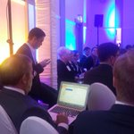You know you are in #Estonia when President and Prime Minister are OK sitting in the audience #LMC2015 #lennartmeri http://t.co/1phGIiUFKm