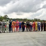 The whole @IndyCar field cutting the ribbon for the new @BarberMotorPark bridge! #IndyCar #HIGPA #INDYRIVALS http://t.co/dBMl74XAyD