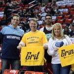 #GrizzNation in #Portland is ready for Game 3! #GrizzRoadTrip #BelieveMemphis #MemphisVsErrrboddy http://t.co/Ivv26394IR