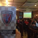 Good to see a full house @FishersChatham enjoying the @WISH_TV broadcast of @IndyEleven match #INDvCAR http://t.co/jNCZ5wT7mG