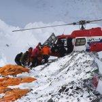 UPDATE: #NepalQuake: Rescue plane reaches Kathmandu with #Everest injured http://t.co/QezKLYQooa http://t.co/XrpNBAnCMO