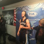 . @Nick_Calathes15 addresses the media after stepping up big in Game 3 vs the #Blazers. http://t.co/idbzfECaBa