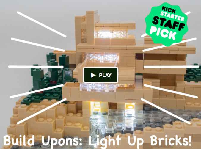 OMG! Tiny light-up bricks that are #LEGO compatible! http://t.co/6wROv7kRbD #toys #parents #kids #kickstarter http://t.co/GwJngJFZBy