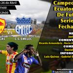 (PREVIA) En minutos vive el encuentro #Aucas vs #Emelec en vivo por @RadioHuancavilk #CampeonatoNacional http://t.co/aVZih1E6tJ