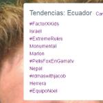 YA SOMOS TT EN #Ecuador vamos !!! Yo Soy #equiponoel mostrando apoyo a @NoelSchajris @MePongoDePieMX ;);) http://t.co/vdF4DM0vxM