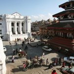NEPAL EARTHQUAKE: Check out the damage the quake did in Durbar Sqaure, Nepal with these before & after shots. http://t.co/7yU34JZtZg