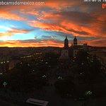 ¡Espectacular! El cielo de #Durango hoy al atardecer. Vista Plaza de Armas. http://t.co/O0eyfYR0Gm