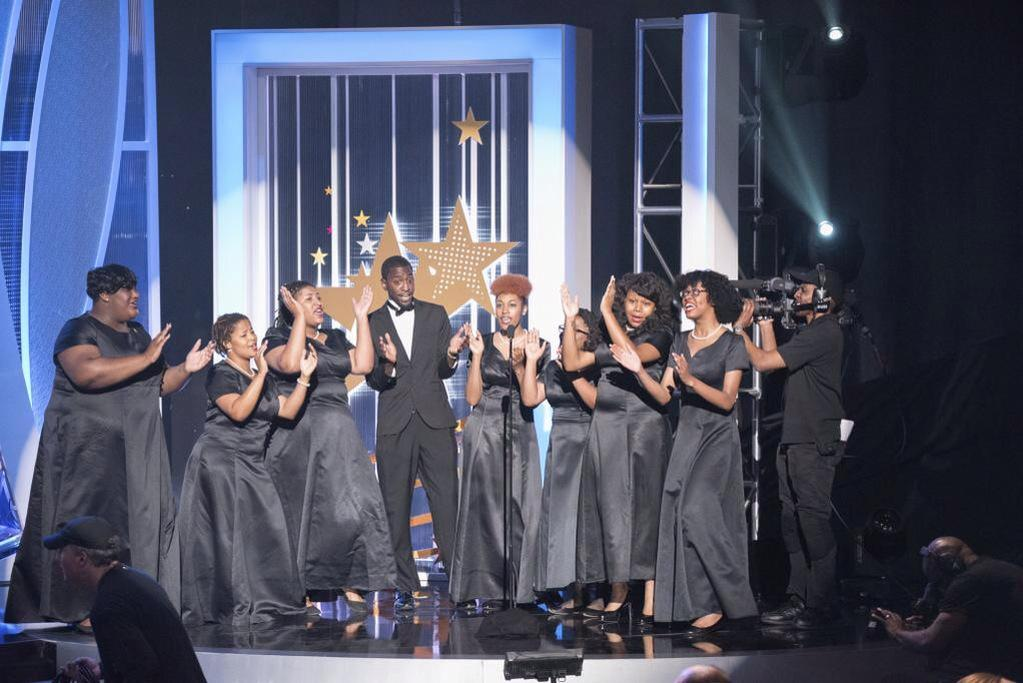 Great performance by the #mydu concert choir on the #UNCF Evening of stars. http://t.co/GiQ5kkhPAe