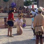 Upon seeing the Santo Nino, Queen Juana, emotionally moved, asked to be baptized #450kaplag @sunstarcebu http://t.co/7yFP5Mub36