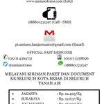 Lion Express Banjarmasin | Banjarmasin - Semarang: Rp. 16.000 (Kg) | CP (0511) 4364731 | Web http://t.co/MGyb4vKZ8u http://t.co/l25YJn1Ihl