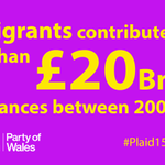 Ukip would reduce the UK tax base by placing arbitrary restrictions on EU immigration #Plaid15 #GE2015 http://t.co/DwuDszI5gV