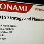 Estratégia da Konami para o ano fiscal de 2015: http://t.co/bVx0xUgy45