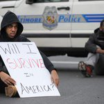 RT @Bipartisanism: REMINDER: There are peaceful protests all over #Baltimore right now. #FreddieGray http://t.co/BzkMaoOgQU