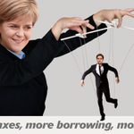 Nicola Sturgeon and the SNP propping up Ed Miliband? That means more taxes, more borrowing and debt - and youll pay. http://t.co/b5Tt5MJ1we