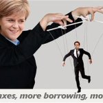 Telling. @NicolaSturgeon wouldnt deny that she would be calling the shots if @Ed_Miliband was PM http://t.co/e3cXIuKInV