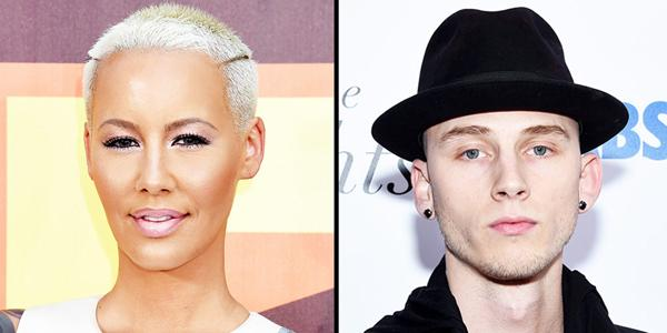 New couple alert? Amber Rose and Machine Gun Kelly step out for a lunch date