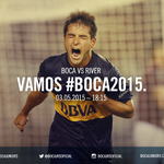 ¡Ya es domingo! A partir de las 18.15 #Boca recibe a River por la undécima fecha del Torneo de Primera División. http://t.co/ZN1TAba8Yz
