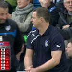 Wow. Love the last day of the Football League season! Colchester are safe as it stands, and MK Dons are up! #FL72 http://t.co/ccVDpp33fr