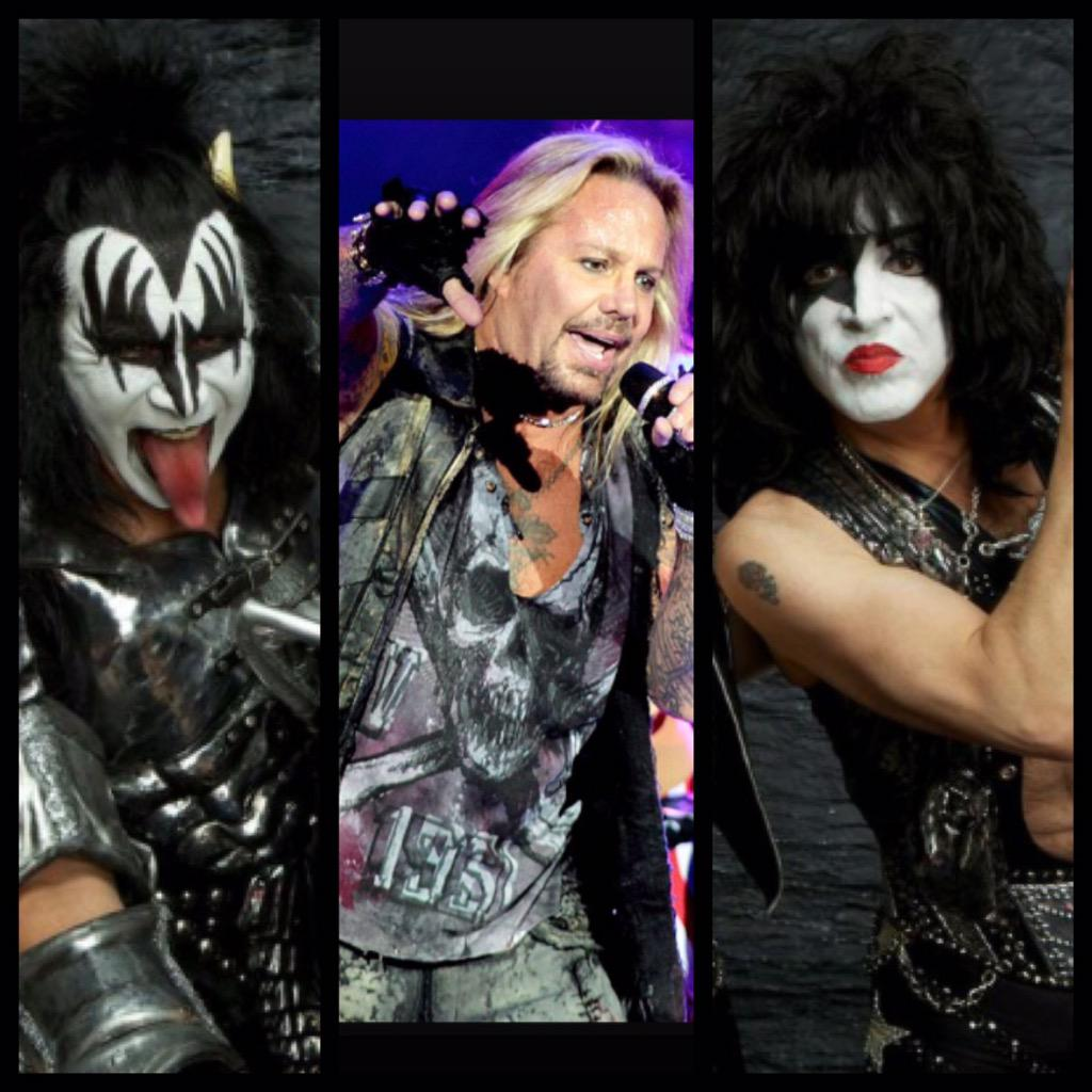 Guess who's coming to @AFLOutlaws vs @LAKISS_AFL tomorrow in Vegas: @thevinceneil @PaulStanleyLive & @genesimmons !! http://t.co/4sJBm6WAjm