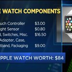 RT @CNBC: The hardware inside the Apple Watch Sport is worth $84. The watch retails for $349. Video: http://t.co/Y96l7ltSZM http://t.co/Yp9…