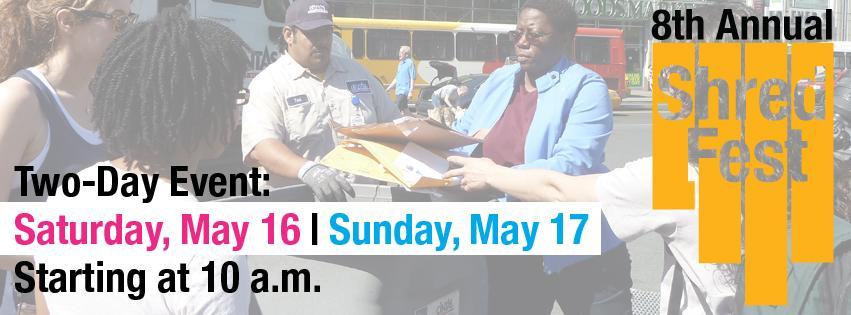 Join us on 5/16 and 5/17 at Shred Fest to learn how you can prevent identity theft. More info: http://t.co/kcn5amqZbR http://t.co/jzVnE7vV97